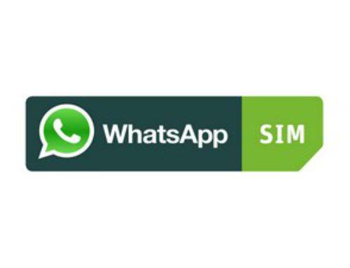 WhatsApp SIM Prepaid Karte aufladen